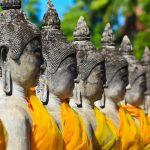 Dzień 8: Wioska słoni, ogród orchidei iświątynia Doi Suthep